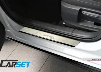 Peugeot 107 nakładki progowe listwy ochronne progi stalowe q