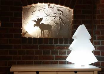 Podświetlana choinka LED