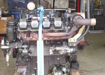 claas silnik V8 Mercedes OM502LA OM 502 LA sieczkarnia