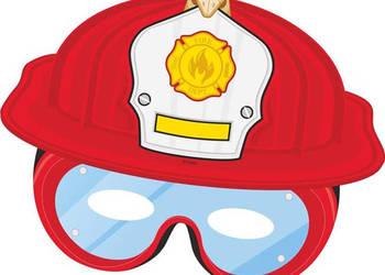Maska papierowa Straż Pożarna