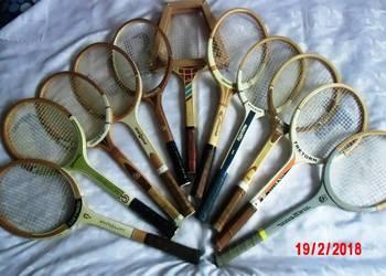 Kolekcionerskie drewniane rakiety do tenisa w super stanie