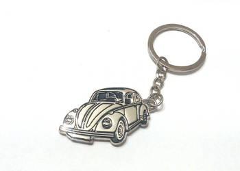 VW Garbus - metalowy breloczek do kluczy