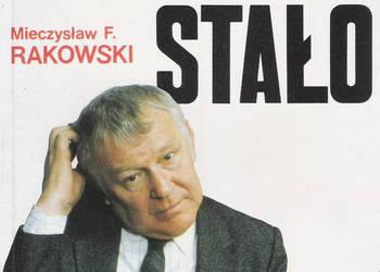 Jak to się stało - M. F. Rakowski.
