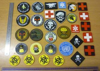 Hit morale patches naszywki naszywka survival wojskowe