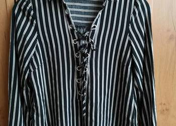 Koszula w czarno białe paski New Look Gdynia Sprzedajemy.pl  KMFVc