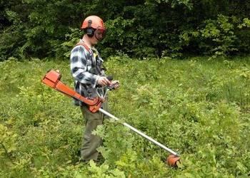 koszenie kosiarka kosa usługi ogrodnicze