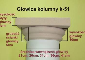 głowica styropianowa na kolumnę k-51 śr. 21, 26,31, 36,41cm