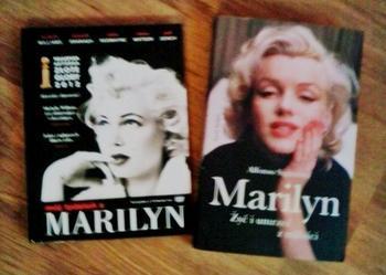 Zestaw książka i film Marilyn Monroe NOWY