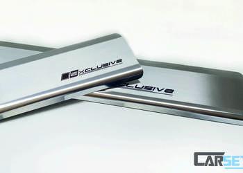 Nakładki listwy progowe progi Hyundai i30 i40 ix20 ix35