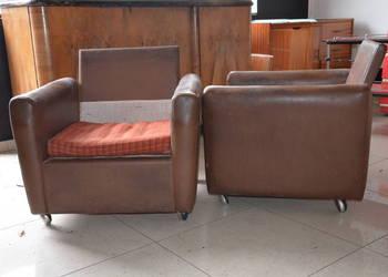 Fotel klubowy PRL, Loft,Meble PRL,Krzesła PRL, Fotele PRL