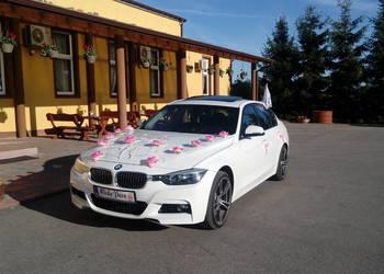 Auto do ślubu BMW 2014r białe do ślubu zawioze kierowca