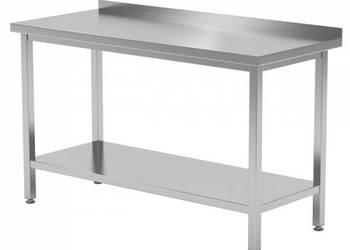 Stół nierdzewny do gastronomii 120x60x85 + półka PRODUCENT