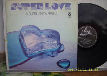 SUPER LOVE--0A SUPER KINDA ;LP winyl.
