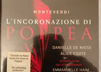 Monteverdi L'Incoronazione di Poppea HAIM DE NIESE