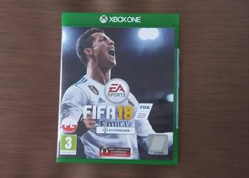 FIFA 2018 XBOX ONE PL pudełkowa / idealny