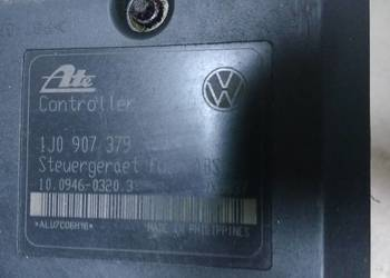 Sterownik ABS pompa 1J0907379 Skoda Audi VW Seat