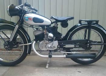 Nsu fox 125cm 1953r. Motocykl Zabytkowy. Nie DKW BMW WFM