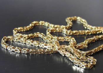 królewski splot złoty łancuszek 585 14k