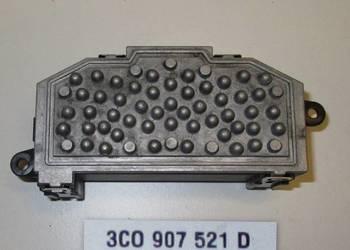 Vw Seat Skoda Rezystor Opornica 3C0907521D