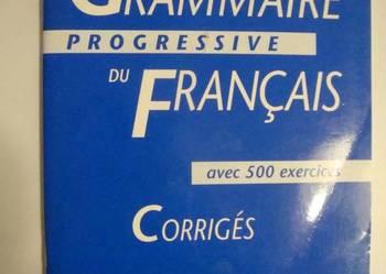 GRAMMAIRE DU FRANCAIS PROGRESSIVE CORRIGES