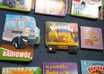 pojazdy dla najmłodszych dzieci bajki wierszyki 9 książek