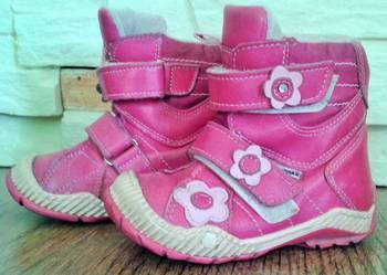 różowe buty zimowe kozaczki firmy gaspar 23