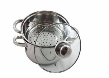 Garnek do gotowania na parze PAROWAR INDUKCJA GAZ