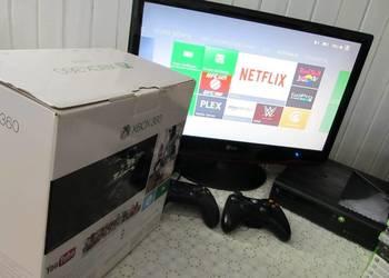 Konsola Xbox 360 E,dwa pady + 25 gier! 500GB