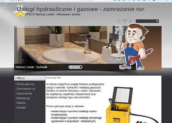 Spawanie gazowe, usługi gazownicze - zamrażanie rur Warszawa