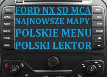 Ford NX MCA karta SD Mapy 2018 Polskie menu Polski lektor