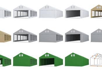 NAMIOT ROYAL 5X10 CAŁOROCZNY Ogrodowy Handlowy Imprezowy PVC