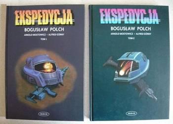 UNIKAT KOMIKSY Ekspedycja Polch część 1 i 2 Wydanie I KOLEKC