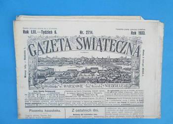 11. Gazeta Świąteczna Rok wydania 1933 - Bezpłatna wysyłka.