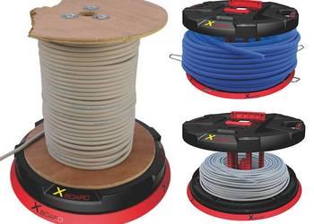 Rozwijak stojaki do odwijania kabli z bębnów RUNPOTEC 500 kg