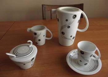 zestaw serwis kawowy porcelana filiżanki Naczynie żaroodporn