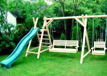 Meble ogrodowe  krzesła drewniane huśtawka DOSTAWA ZA 100 ZŁ