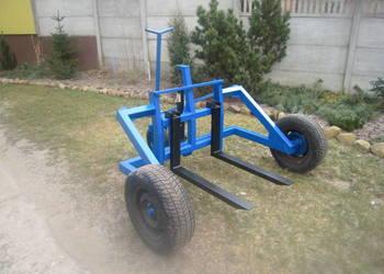 Wózek paletowy terenowy paleciak terenowy