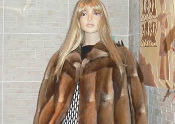 Futro-przepiekna kurtka z naturalnego bobra,bobry jak NORKI