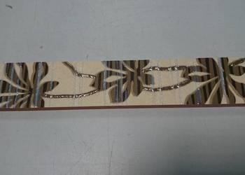 OKAZJA  Dekor płytka 4x25 listwa dekoracyjna DEL CONCA