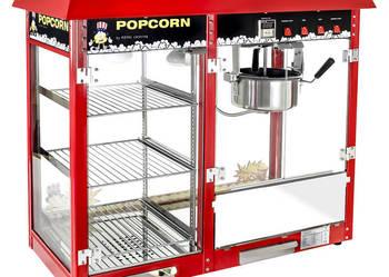 Maszyna do popcornu z witryną grzewczą 1700W