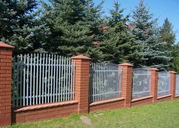 Ale ogrodzenia bramy barierki sztachety bramy przesuwne Nice