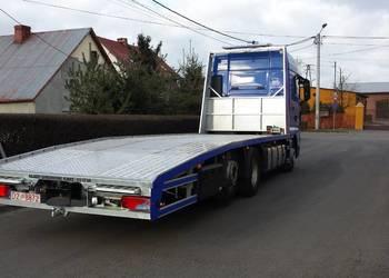 Transport przewóz maszyn ciągników konstrukcji urządzeń auto