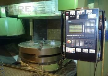 CNC TOKARKA KARUZELOWA DORRIES VCE180 z wymianą stołów 3 szt