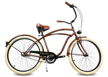 Rower miejski beach Cruiser BROWNIE Producent RoyalBi