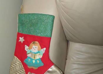 Skarpeta świąteczna na prezenty
