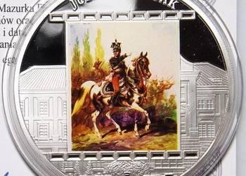 Nowa Moneta Medal Kossak Hymn Mazurek Dąbrowskiego SREBRO