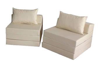 Materac składany rozkładany fotel sofa łóżko pufa