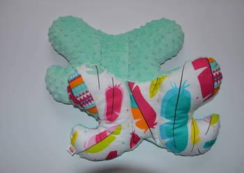 Poduszka antywstrząsowa motylek minky PROMOCJA!!!