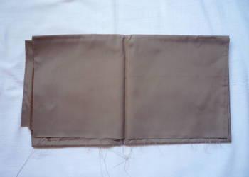 Materiał 140cm x 74cm podszewka kakaowa Kupon