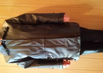 Nowa kurtka-płaszcz skórzana damska